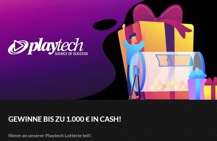 Playtech Lotterie auf Bonkersbet